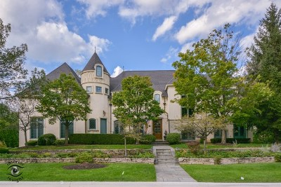 Hinsdale Single Family Home For Sale: 805 West Hickory Street