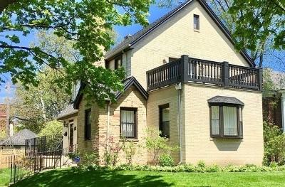 Chicago Single Family Home For Sale: 2148 West Pratt Boulevard