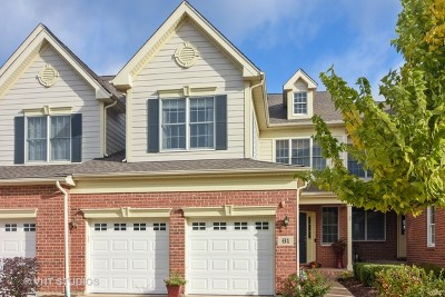Hawthorn Woods Condo/Townhouse For Sale: 61 Harborside Way