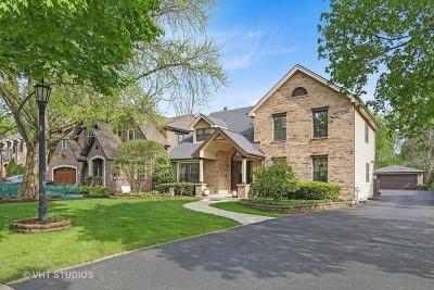 Glen Ellyn Single Family Home For Sale: 310 Hawthorne Boulevard
