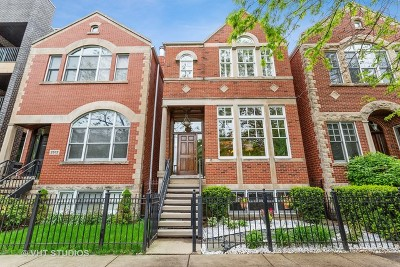 Single Family Home For Sale: 2514 North Greenview Avenue