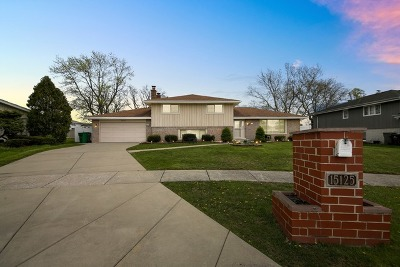 Orland Park Single Family Home For Sale: 15125 Lilac Court