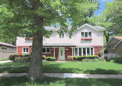 Wilmette Single Family Home For Sale: 3534 Forest Avenue