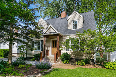 Downers Grove Single Family Home Price Change: 4609 Middaugh Avenue