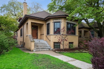 Evanston Single Family Home For Sale: 1024 Mulford Street