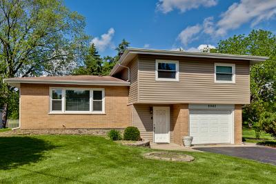 Hanover Park Single Family Home For Sale: 2080 Poplar Avenue