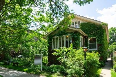 Single Family Home For Sale: 4834 North Leavitt Street