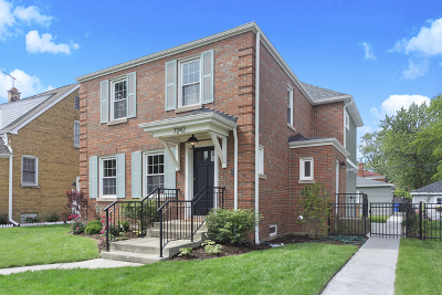 Edison Park Single Family Home For Sale: 7242 West Ibsen Street