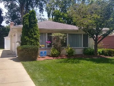 Wilmette Single Family Home For Sale: 616 Lawler Avenue