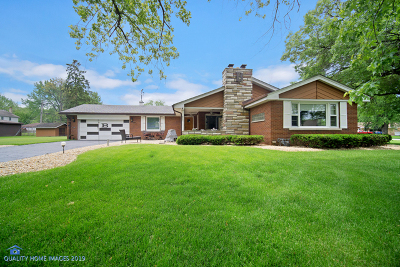 Orland Park Single Family Home For Sale: 14901 South 81st Court