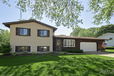 McHenry Single Family Home Price Change: 1512 North Millstream Drive