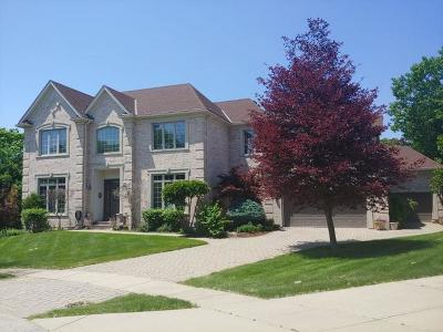 Schaumburg Single Family Home Price Change: 290 Lexington Court