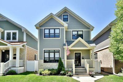 Edison Park Single Family Home For Sale: 6618 North Oconto Avenue