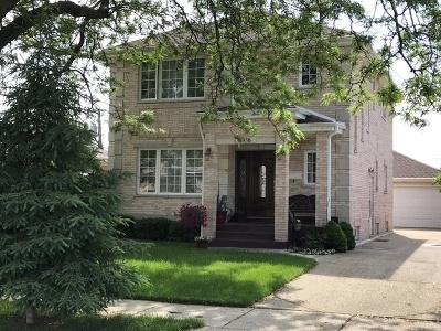 Norridge Single Family Home For Sale: 4936 North Orange Avenue