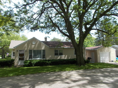 Crystal Lake Single Family Home For Sale: 4 Kent Avenue