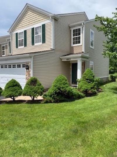 Plainfield Condo/Townhouse For Sale: 4005 Oak Tree Lane