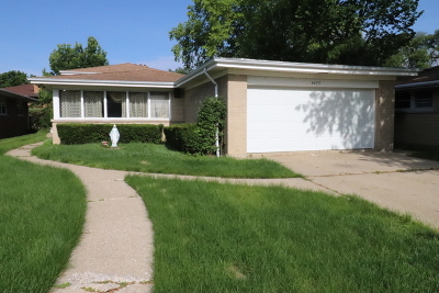 Lincolnwood Single Family Home New: 6652 North Christiana Avenue