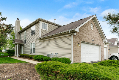 Plainfield Condo/Townhouse For Sale: 24018 Pear Tree Circle #1721