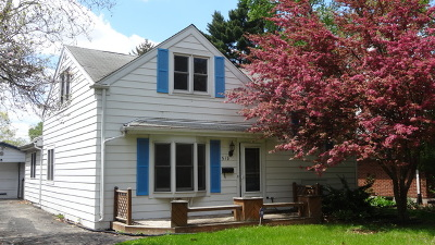 Lombard Single Family Home Price Change: 518 South Chase Avenue