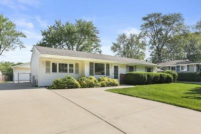 Schaumburg Single Family Home For Sale: 1514 Dedham Lane
