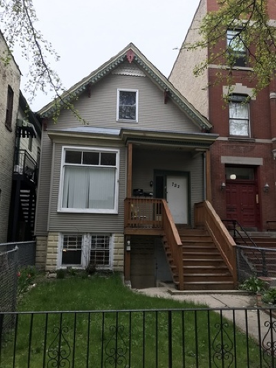 Multi Family Home For Sale: 722 West Wrightwood Avenue