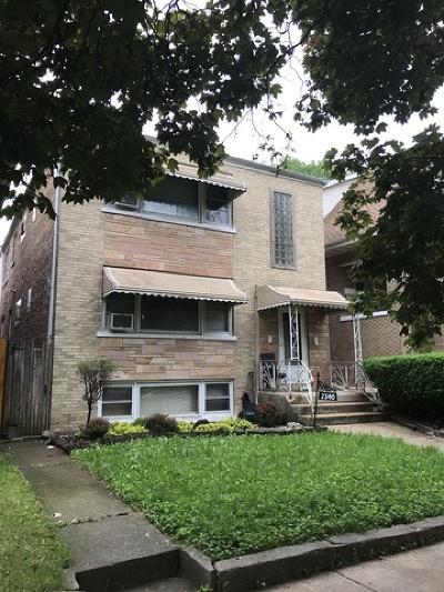 Belmont Cragin Multi Family Home For Sale: 2340 North Merrimac Avenue