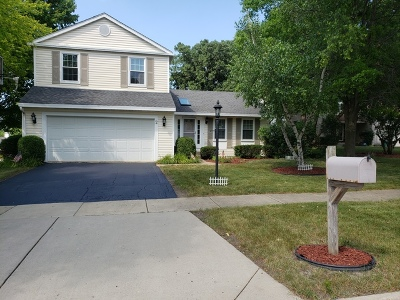 Streamwood Single Family Home For Sale: 2 Weston Court