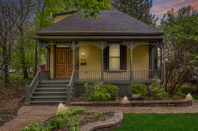 Naperville Single Family Home For Sale: 22 North Sleight Street