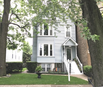 Chicago Single Family Home For Sale: 6056 North Paulina Street