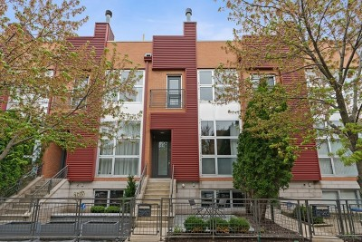 Wicker Park, Bucktown Condo/Townhouse For Sale: 2147 West Churchill Street