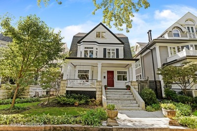 Andersonville Single Family Home For Sale: 5434 North Lakewood Avenue