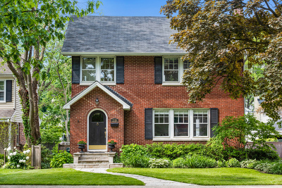 Wilmette Single Family Home For Sale: 2118 Elmwood Avenue