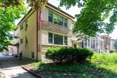 Edison Park Multi Family Home For Sale: 6743 North Oxford Avenue