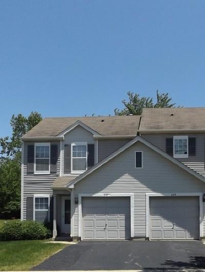 Romeoville Condo/Townhouse For Sale: 236 East Savannah Drive