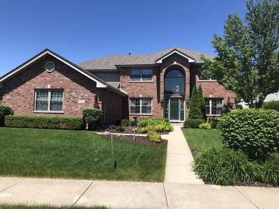 Tinley Park Single Family Home For Sale: 7766 Marquette Drive South
