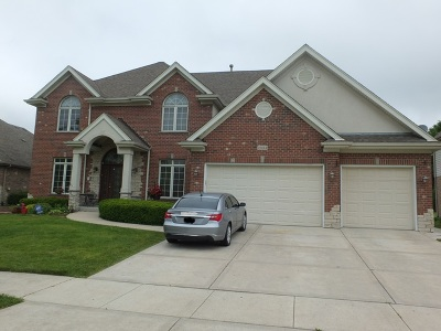 Orland Park Single Family Home For Sale: 10444 Buck Drive