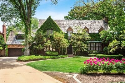 Hinsdale Single Family Home For Sale: 801 South County Line Road