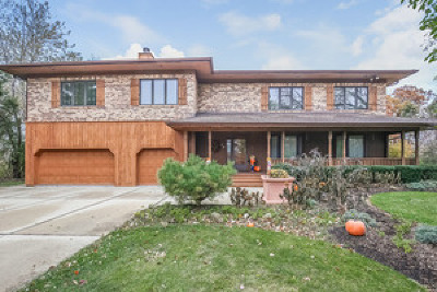 Oak Brook Single Family Home New: 14 Meadowood Drive