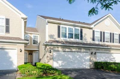 Crystal Lake Condo/Townhouse For Sale: 427 Windham Cove Drive