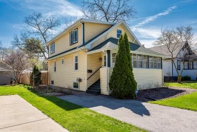 Glen Ellyn Single Family Home For Sale: 789 Western Avenue