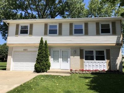 Hoffman Estates Single Family Home Price Change: 4452 Trailside Court