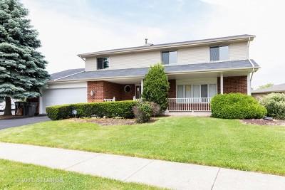 Orland Park Single Family Home For Sale: 9023 Kingston Lane