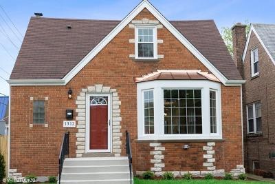 Evanston Single Family Home New: 1312 Dobson Street