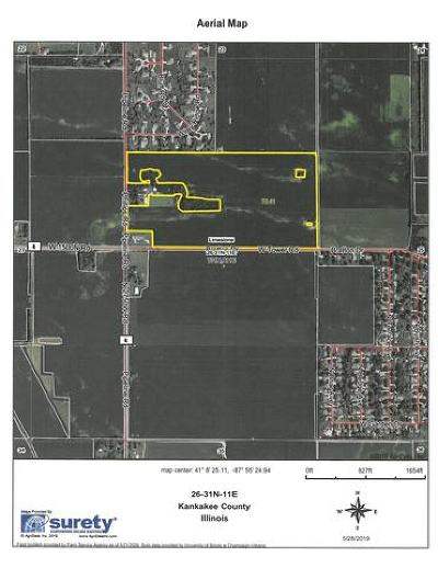 Kankakee Residential Lots & Land For Sale: Sec 26 North 2750 W. Road