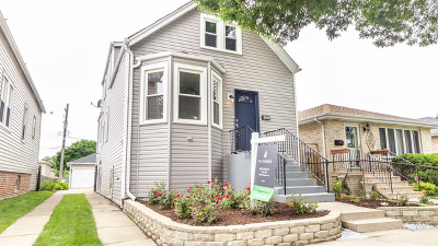 Jefferson Park Single Family Home For Sale: 5144 North McVicker Avenue