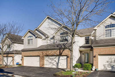 Streamwood Condo/Townhouse For Sale: 6 Monarch Drive