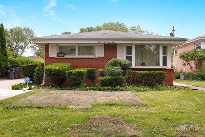 Skokie Single Family Home For Sale: 9239 Kenneth Avenue