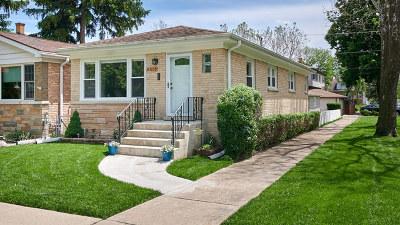 Edison Park Single Family Home For Sale: 6501 North Oliphant Avenue