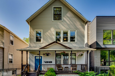 Chicago Multi Family Home New: 2532 West Lyndale Street