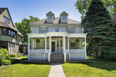 Evanston Single Family Home For Sale: 935 Maple Avenue